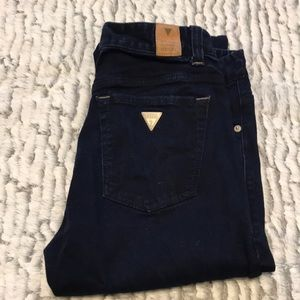 Guess dark blue jeans size 81
